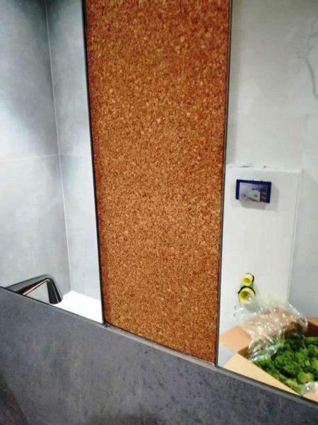 jak zrobić zieloną ścianę z mchu